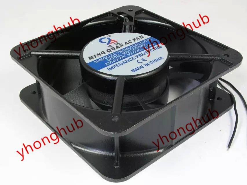 Emacro For MING QUAN MQ15050HBL AC 380V 0.12A 150X150X50mm Server Square Fan emacro for orix mu1225m 11n ac 100v 10 5 9w 120x120x25mm server square fan