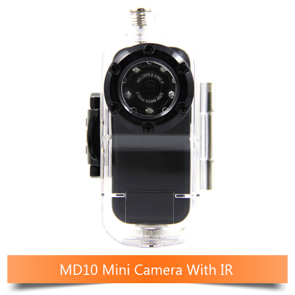 10M Waterproof Upgrade MD80 Mini Camera DVR Diving Action Infrared Camera Small Web Camera 1080P HD Car DVR Action DV with HDMI