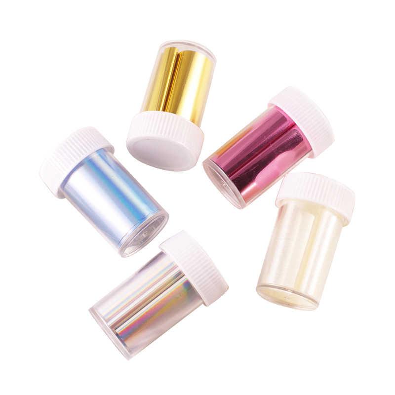 Moda folia transferowa do paznokci dekoracji złoto i srebro proste moda wszechświat naklejki narzędzia do paznokci tanie paznokci DIY rzemiosło