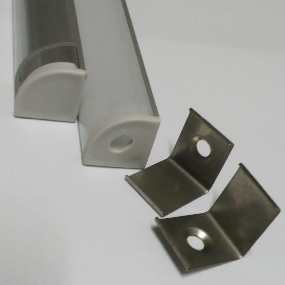 20м (20pcs) көп, бір бөлікке 1м, анодталған - LED Жарықтандыру - фото 4