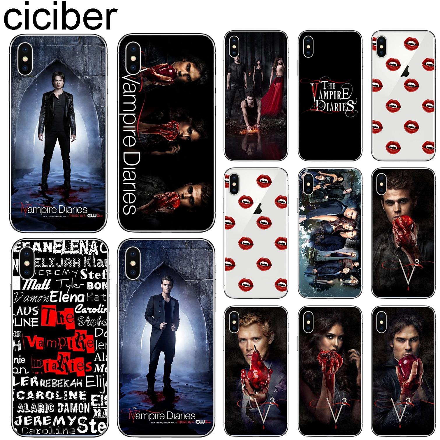 vampire diaries coque iphone 7