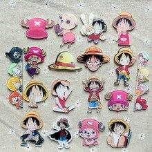 One Piece 1 Шт. Обезьяна D Луффи Чоппер Брошь много симпатичных выражение знак pin Япония Популярные аниме Косплей ролевая игра смешно bedge