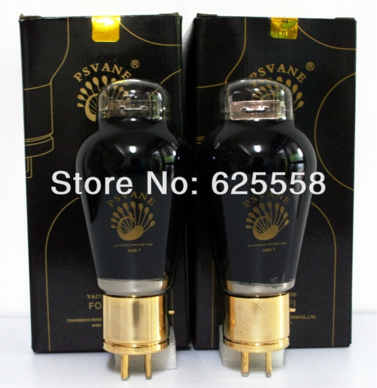 FREE SHIPPING Matched 1 pair PSVANE 300B -T Vacuum Tube радиолампа voice of the nobility psvane uk300b l 300b