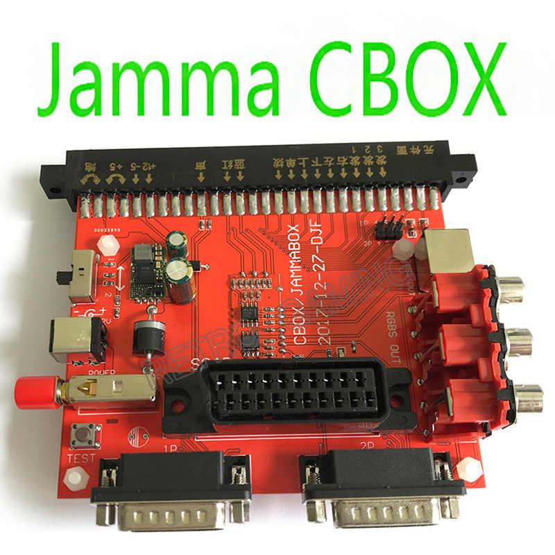 1 pcs jamma to db 15pin 조이패드 변환 보드 jamma cbox converter 모든 jamma 아케이드 게임용 scart 출력 pcb snk 마더 보드