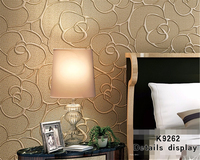 Beibehang High quality relief wallpaper background wallpaper roll , living room decoration 10m 3d wallpaper papel de parede