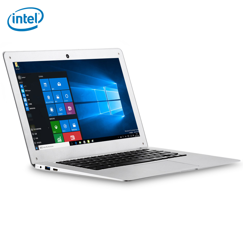 Jumper Ezbook 2 14.0 inch Ultrabook Notebook Windows 10 Intel Cherry Trail X5 Z8350 Quad Core Laptop LED Screen 1.44GHz 4GB 64GB(China)