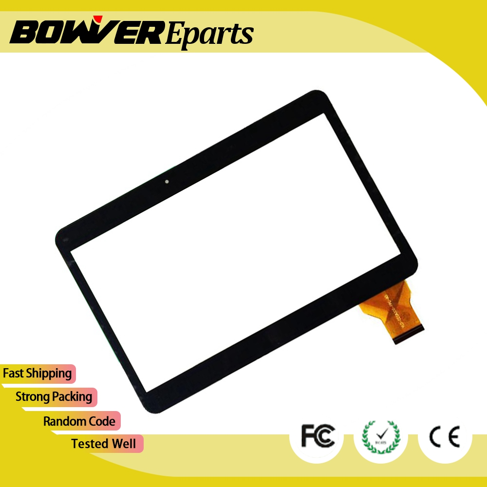 A black 10 6inch touch screen 100 New touch panel Tablet PC touch panel digitizer ZJ