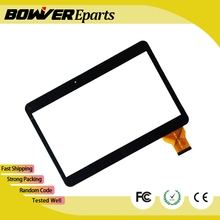 A + negro pantalla táctil de 10.6 pulgadas, 100% Nuevo panel táctil, Tablet PC de panel táctil digitalizador ZJ-10019A