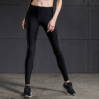 2016 Sport Leggings High Waist Compression Pants Gym Clothes Sexy Running Yoga Pants Women Sports Leggings