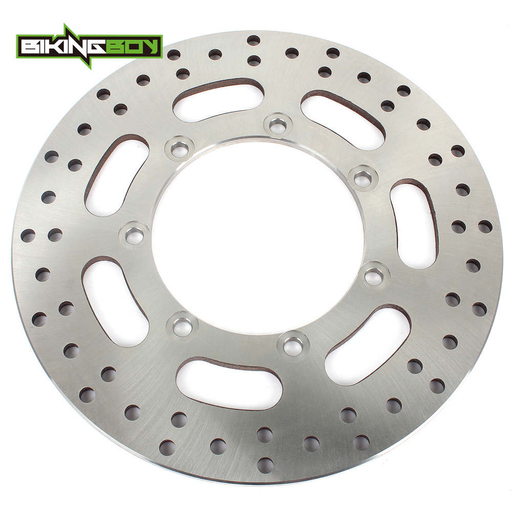 BIKINGBOY For Kawasaki VN 1500 Vulcan Mean Streak 02 03 04 VN1600 2004-2008 VZ 1600 Intruder Marauder Rear Brake Disc Rotor DiskBIKINGBOY For Kawasaki VN 1500 Vulcan Mean Streak 02 03 04 VN1600 2004-2008 VZ 1600 Intruder Marauder Rear Brake Disc Rotor Disk