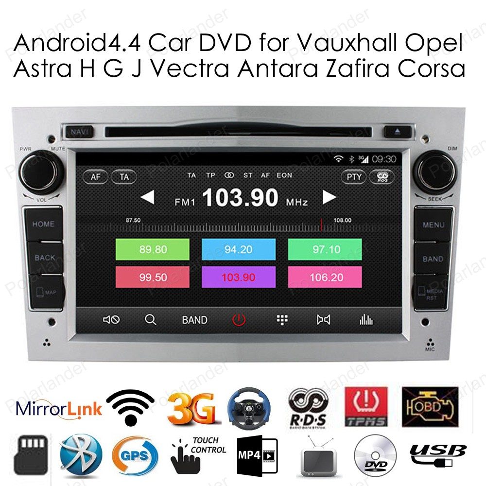 2 din android 4 4 radio car dvd player gps stereo for. Black Bedroom Furniture Sets. Home Design Ideas
