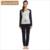 Qianxiu modal pajama set para impressão mulheres manga longa sleepwear ocasional salão desgaste