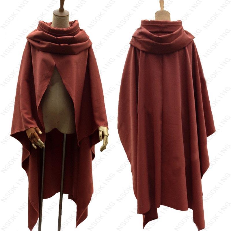 Anime Kabaneri of the Iron Fortress Koutetsujou no Kabaneri Ikoma Cosplay Costum Cloak custom-made