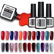 LEMOOC 8ml Nail Gel Polish Soak off Set For Manicure UV led Art Candy Sweet Style 229 Colors Available