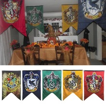 70×125 см Гарри Поттер колледж флаг баннеры обувь для мальчиков девочек Дети Хэллоуин украшения Рождественский подарок День Рожде