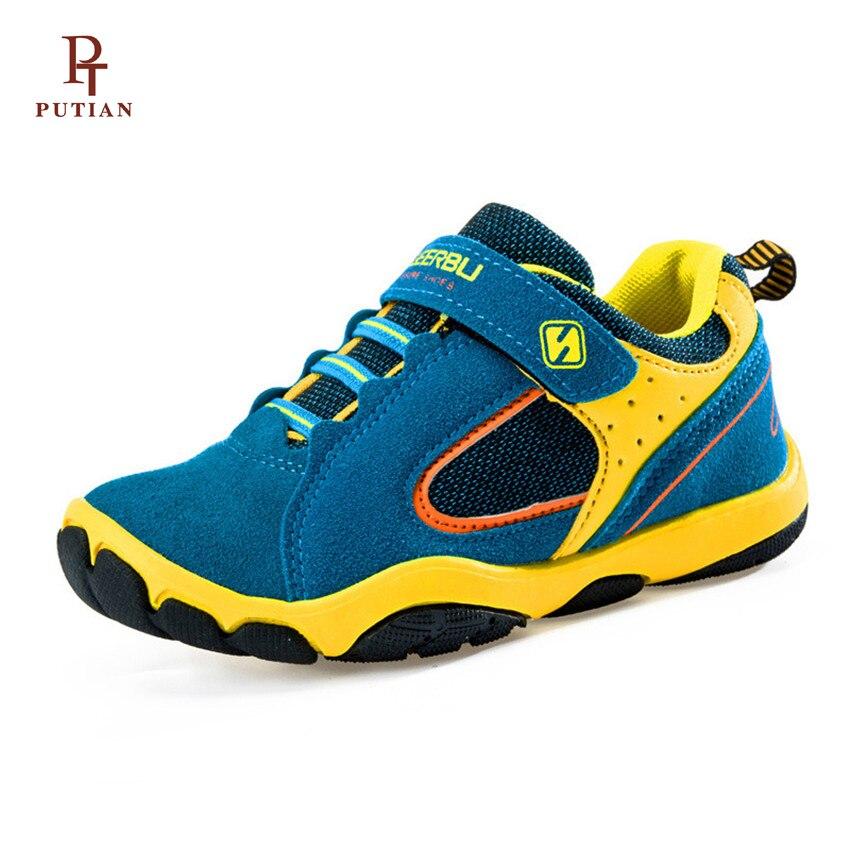 PU TIAN Kinderen Schoenen Kinderen Sneakers Ademend Waterdicht - Kinderschoenen - Foto 1