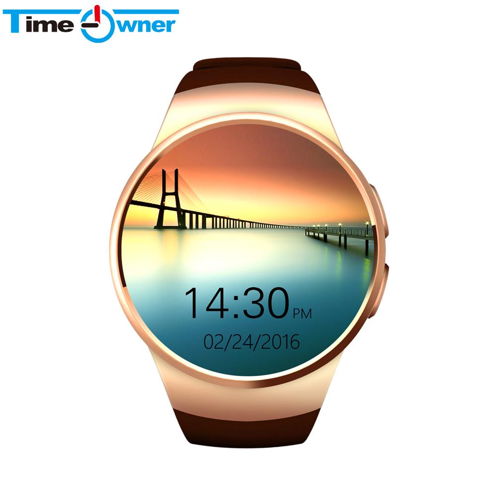 Prix pour TimeOwner Bluetooth Montre Smart Watch Android Moniteur de Fréquence Cardiaque Fitness Tracker Smartwatch avec SIM TF Carte pour Android ios iPhone 6 S