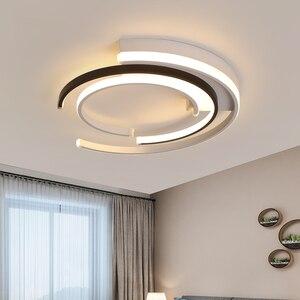 Image 3 - Lampadario di Illuminazione per soggiorno camera Da Letto AC85 265V Moderna Lampadari Lustre Rotondo di Alluminio Lampadario A Bracci del Soffitto