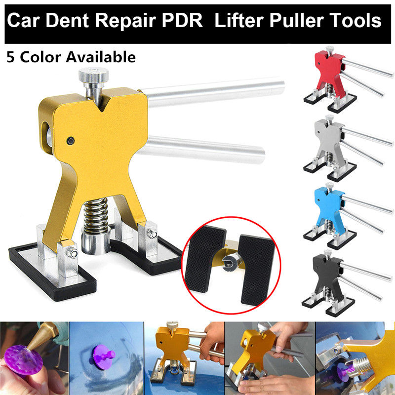 1Pc Dent Lifter Removal PDR Tool Dent Repair Paintless Auto Body for Car Repair Hand Tool Set Blue/Red/Gold/Black/Silver ...