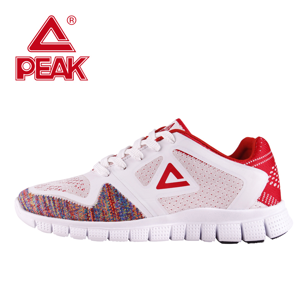 PEAK Running Shoes For Women Gym Shoes Sport Sneakers Training Running Jogging Sport Running Shoes Woman Outdoor Breathable outdoor sport women high top running shoes genuine leather running boots sneakers women plus big size
