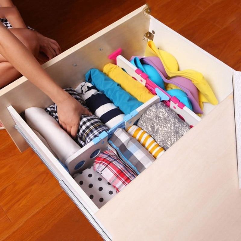 food storage box drawer kitchen organizer adjustable drawer divider socks bra tie organizer diy partition storage
