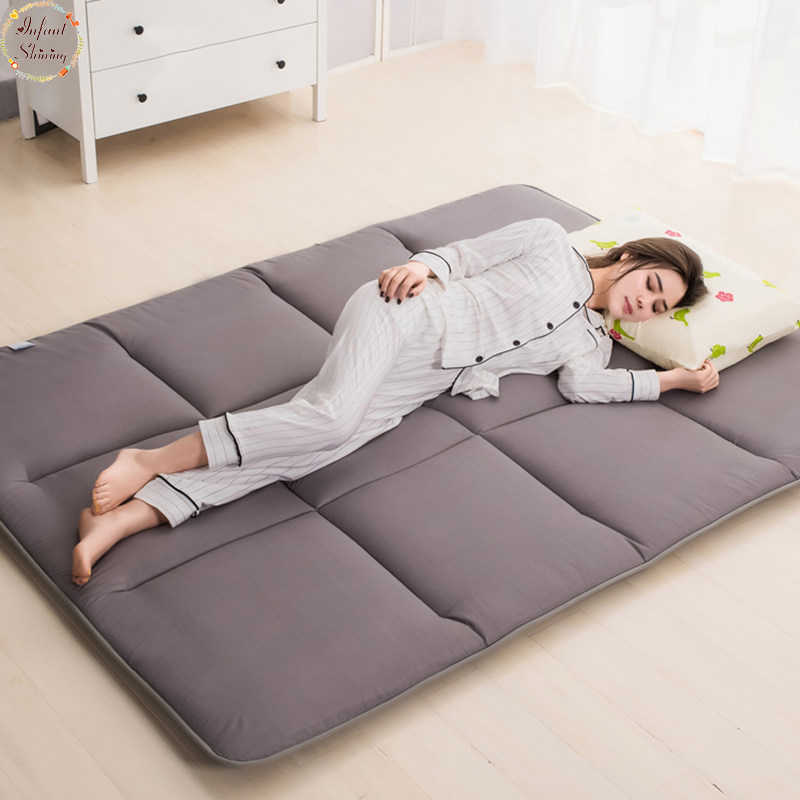Infant Shining 4cm Thick Tatami Mats Mattress Dorms Floor Pajamas Nap Mats Bedroom Carpet More Styles And Colors