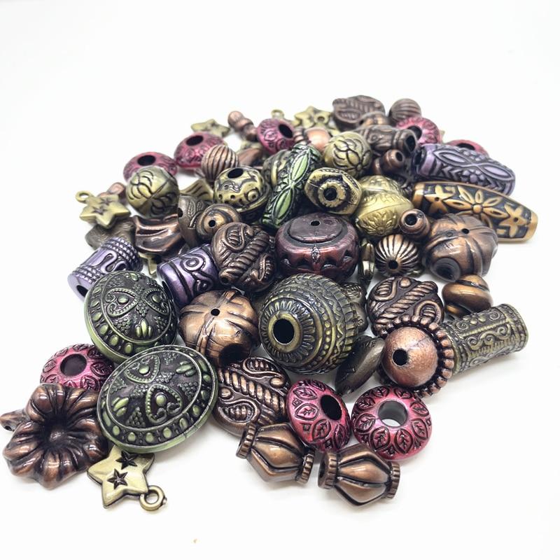 Новинка 20 г акриловые бусины смешанные бусины стиль для DIY ювелирные изделия браслеты ручной работы изготовление аксессуаров - Цвет: 24