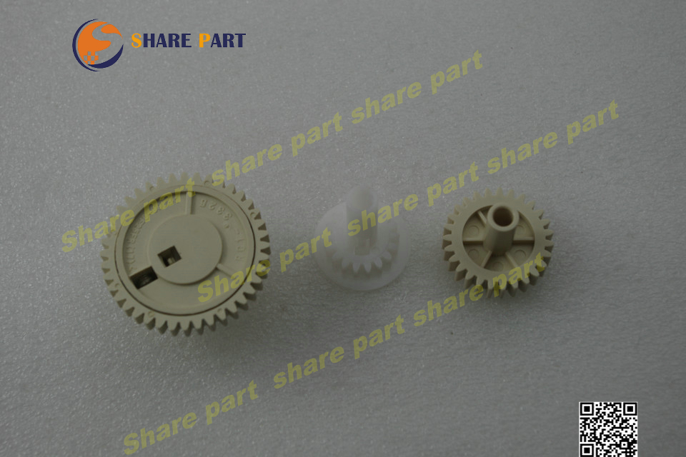 Replace gear kit for hp 4250 4350 fuser unit RU5-0018-000 RC1-3325-000 RU5-0275-000 compatible new fuser gear for hp 4250 4300 4350 rc1 3325 000 rc1 3324 000 10 pcs per lot