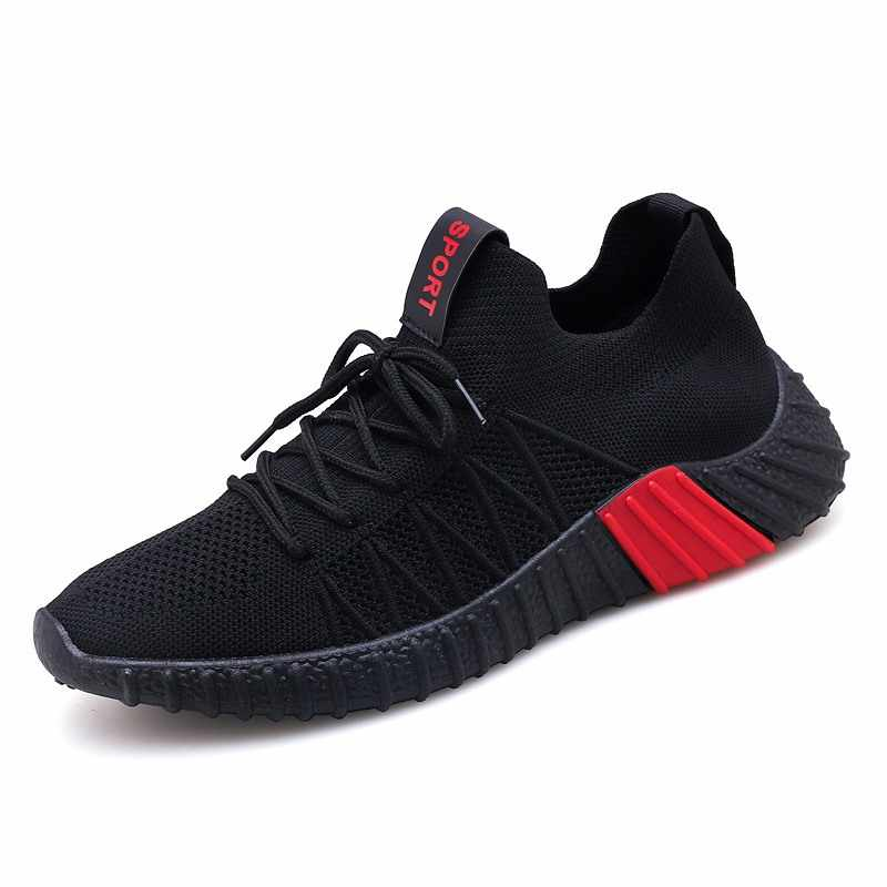on sale 5a64f 3221b 2019 Spring Summer New Men's Shoes Breathable Flying Weaving Coconut Shoes  Grandfather Yeezys Sports Socks Shoes