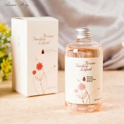 260ml casa fragrância reabastecimento de óleo rattan reed difusor quarto perfume aroma suplemento de óleo essencial lavanda oceano lírio, etc