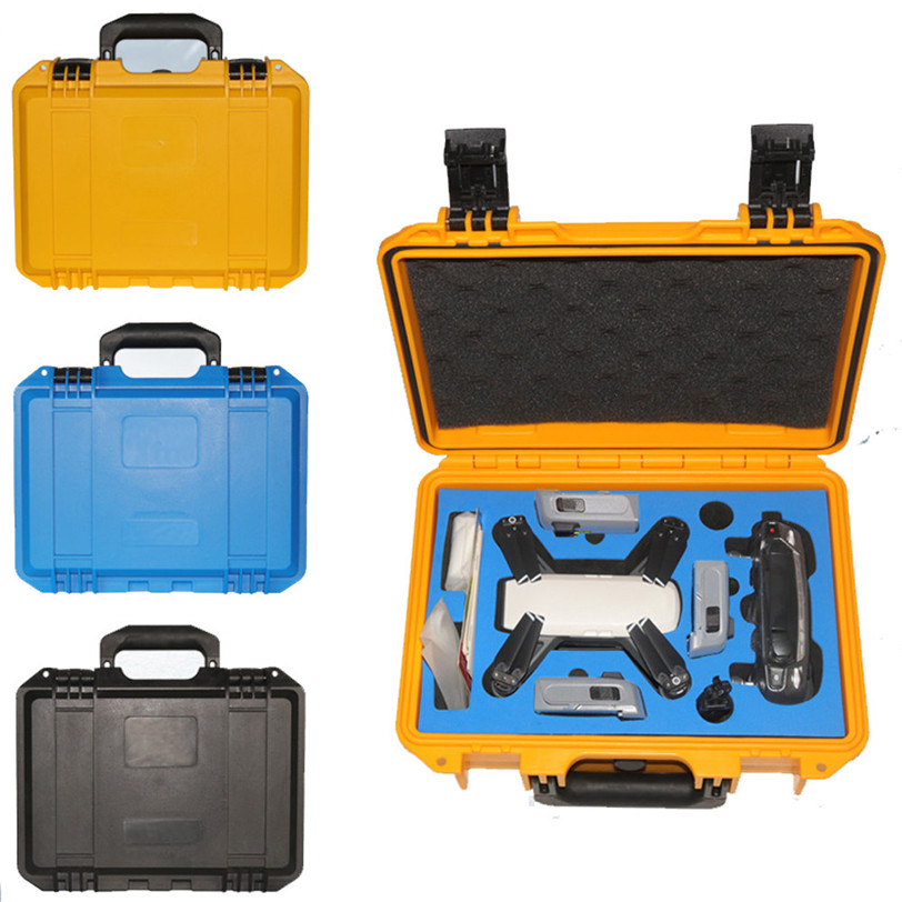Waterproof Hardshell Backpack Case Bag RC Spare Parts Suitcase Box For DJI Spark Jun18 Professional Factory Price Drop Shipping for dji spark accessory waterproof hardshell backpack abs case bag rc spare parts suitcase box dji spark accessories