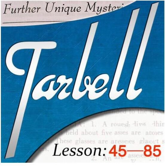 Tarbell Vol.45 - Vol.85 By Dan Harlan Magic tricksTarbell Vol.45 - Vol.85 By Dan Harlan Magic tricks