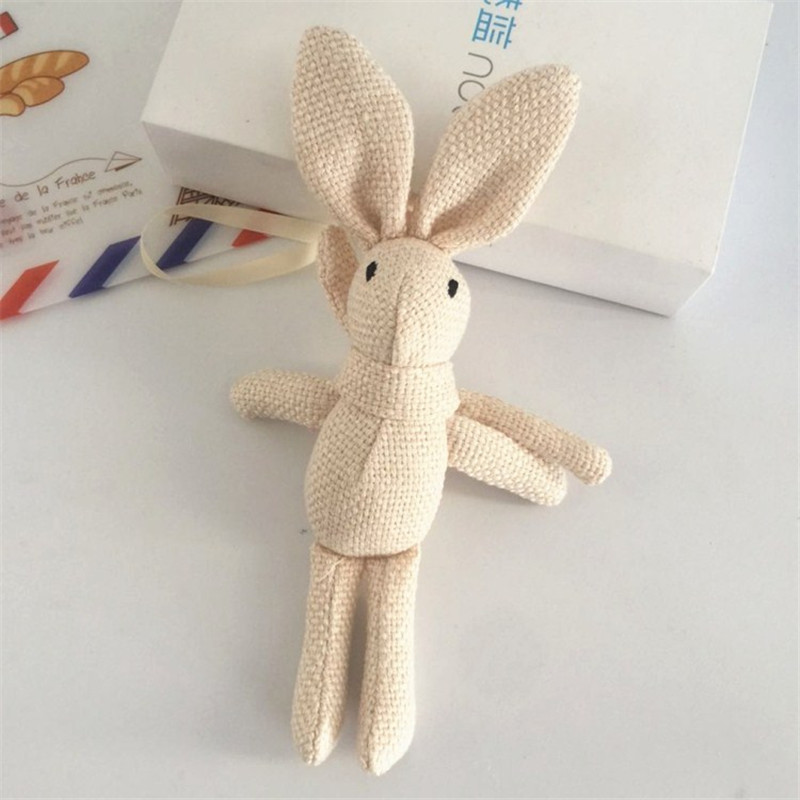 NEW-Rabbit-Plush-Animal-Stuffed-Dress-Rabbit-Key-chain-TOY-Kid-s-Party-Plush-TOY (3)