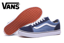01f7bfafd10 Frete Grátis Old Skool vans Clássicas Dos Homens Unisex Tênis vans sapatos
