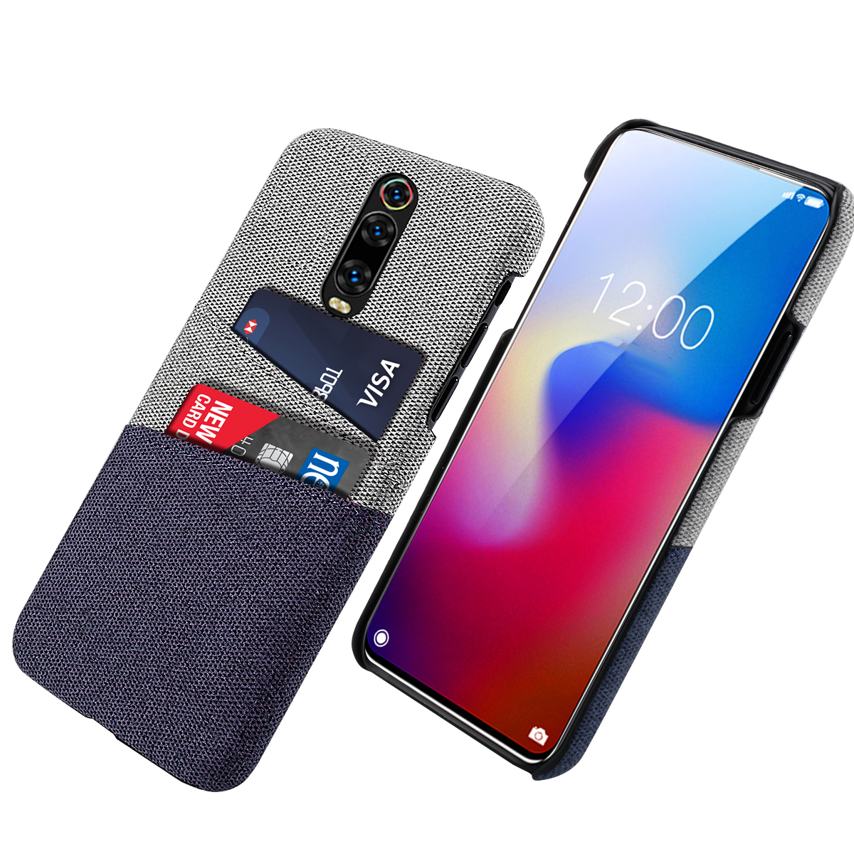 for Xiaomi Redmi K20 Pro Case Slim Fit Hard PC Anti Scratch Fabric Shockproof Matte Cloth Cover Redmi K20 K 20 Pro Case Luxury in Fitted Cases from Cellphones Telecommunications