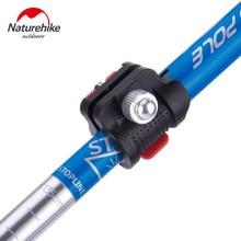 NatureHike Ultralight Aluminum Adjustable Walking Sticks with EVA Foam Handle