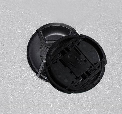 30 adet/grup 49 52 55 58 62 67 72 77 82 86mm merkezi pinch Snap on kapatma başlığı için canon nikon kamera Lens ile parça numarası