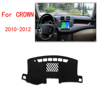Dongzhen Car Dashboard Avoid Light Pad Instrument Platform Desk Cover Auto Accessories For Toyota Crown 2010