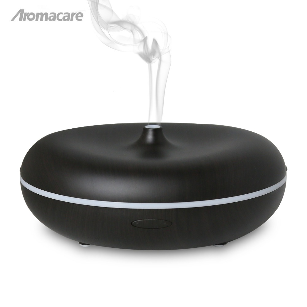 Aromacare 400ml Colorful Changing Light Wood Grain Mini Humidifier 24V 12W Aroma DiffuserAromacare 400ml Colorful Changing Light Wood Grain Mini Humidifier 24V 12W Aroma Diffuser
