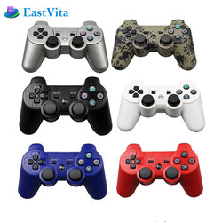 EastVita Wireless Bluetooth Gamepad For Play tation 3 Double shock game Joystick Wireless Gamepad Joystick Controller r57