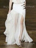 Для женщин Высокая Талия Белый Макси плиссированная юбка Дизайн Обёрточная бумага эффект силуэт три яркие золотой металлик кожаный пряжки