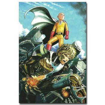 Аниме Плакат Гобелен Шелковый Ванпанчмен в ассортименте 3
