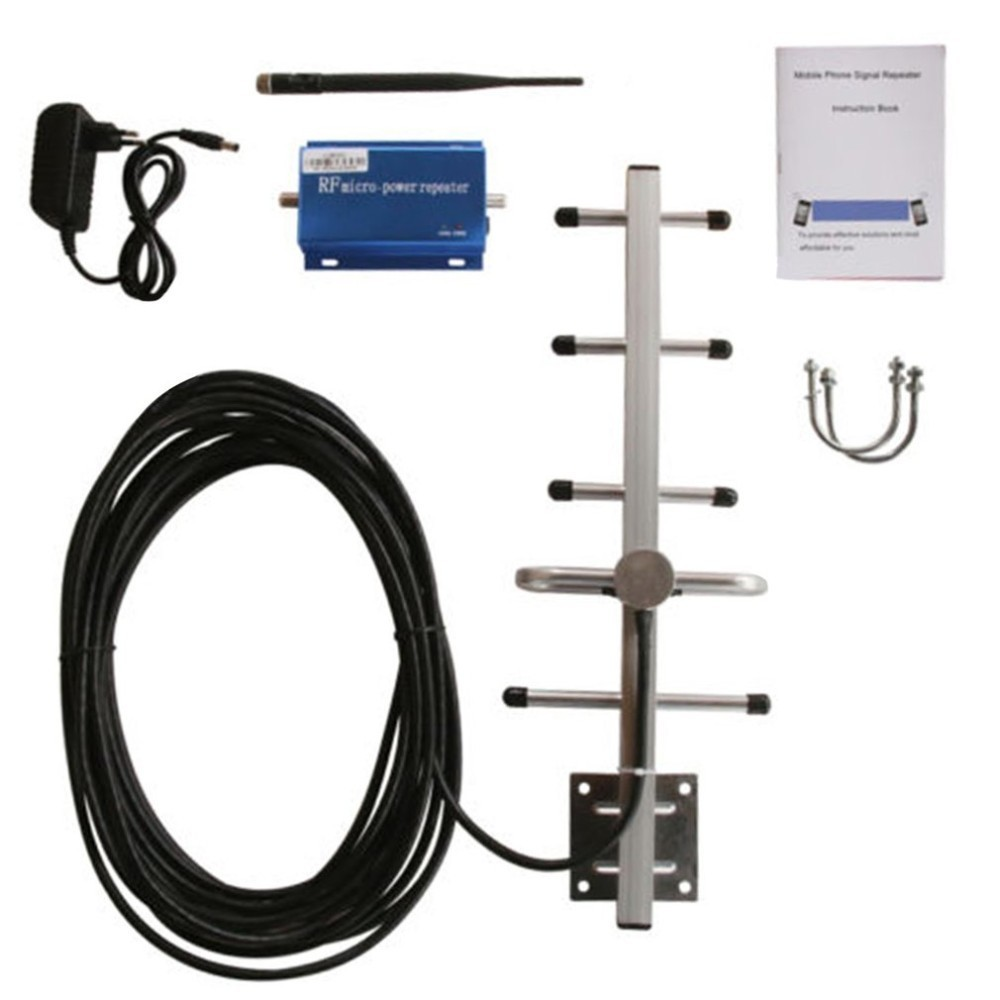 Professional GSM Repeater 900MHZ External Outdoor Mobile Phone Signal Booster Portable Size GSM Amplifier