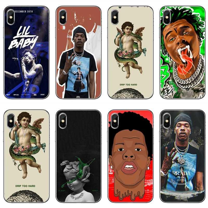 Lil Baby Rapper хип-хоп тонкий, из ТПУ, мягкий чехол для телефона Apple iPhone X XR XS Max 8 7 6s 6 plus SE 5S 5c 5 4S 4
