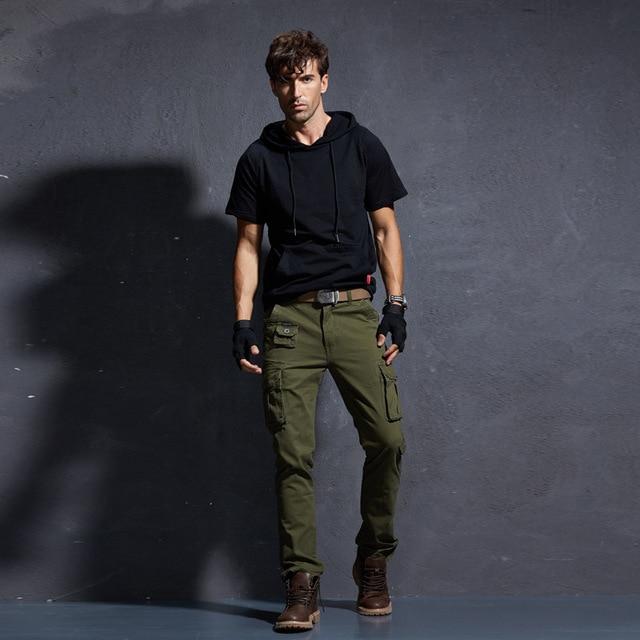 Camouflage Military Pants Men Men's Cargo Army Trousers Mens Tactical Militari Baggy Camo Pants Winter Warm Denim Pants.FA01 65