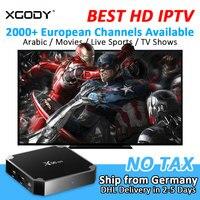 XGODY X96 Mini Smart TV Box Android 7 1 Nougat 2000 Channel Arabic IPTV S905W Quad