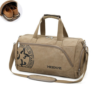 Image 1 - Sport Gym Bag Training Mens Fitness Bags Canvas Handbag Luggage Outdoor Sports Shoulder Bags Shoes Storage Gym Bag Tas XA353WA