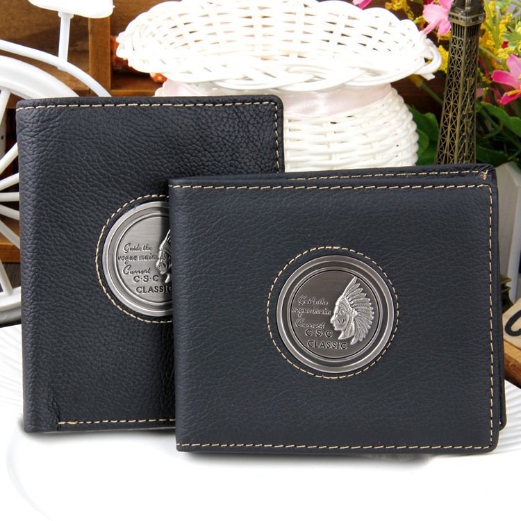 ba9d61a3cf7c 2015 fashion New Sale Double headed eagle designer mens wallet casual  credit card holder purse wallets for men-in Wallets from Luggage & Bags on  ...