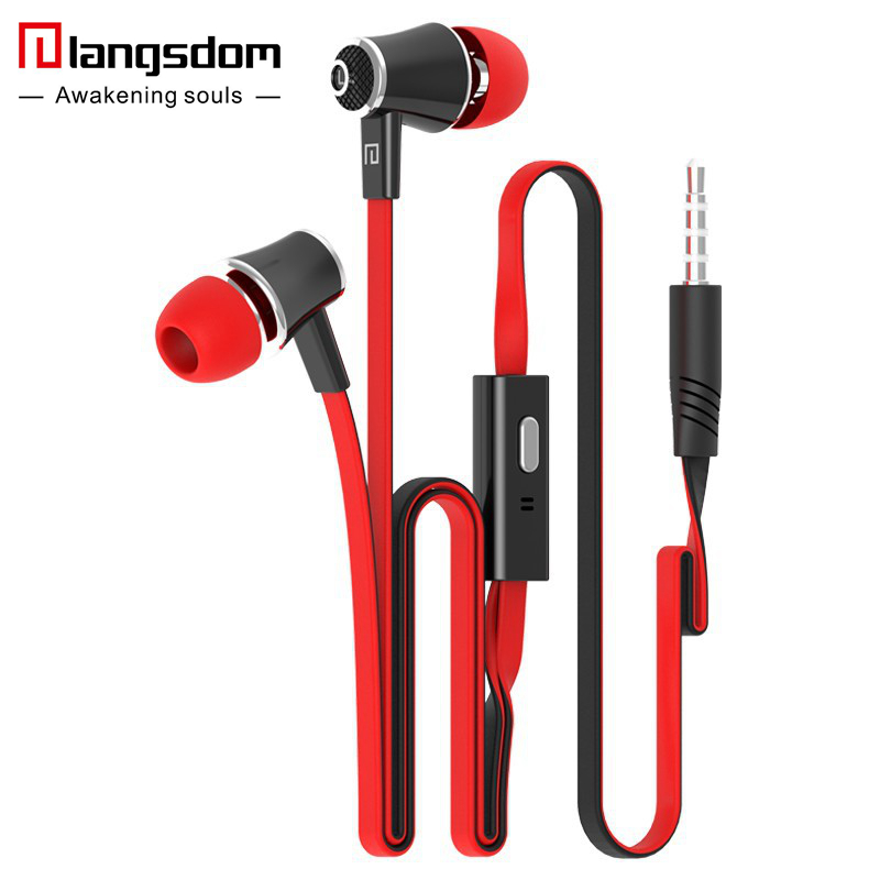 Langsdom JM21 Colorful Headset Hifi Earbuds Bass Earphones for Phone
