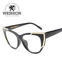 Luxury Women Cat Eye Gradient Sun Glasses Transparent Candy Frame Color Points Unisex Coating Mirror Eyewear